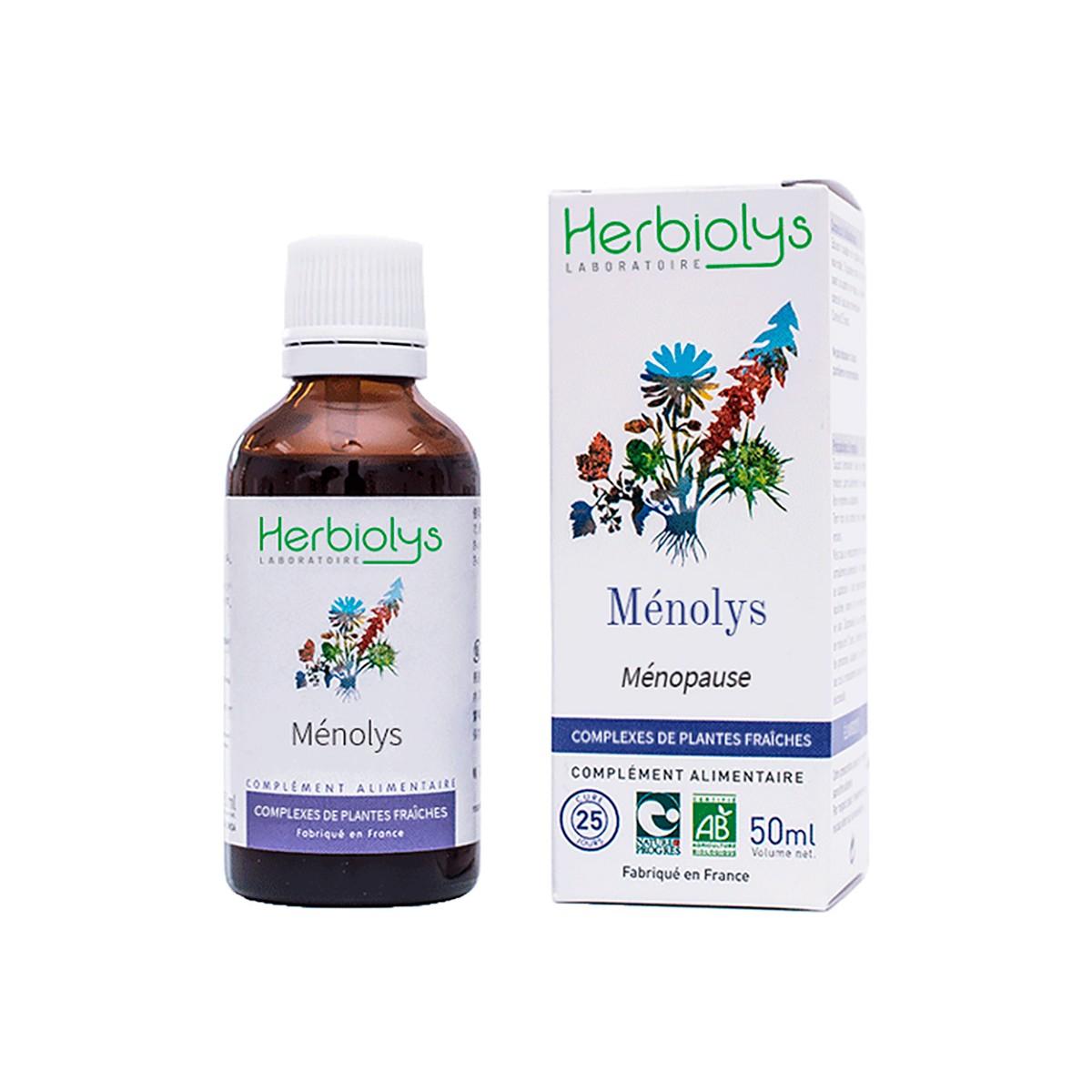 Ménolys - Synergie de plantes et bourgeons BIO Ménopause