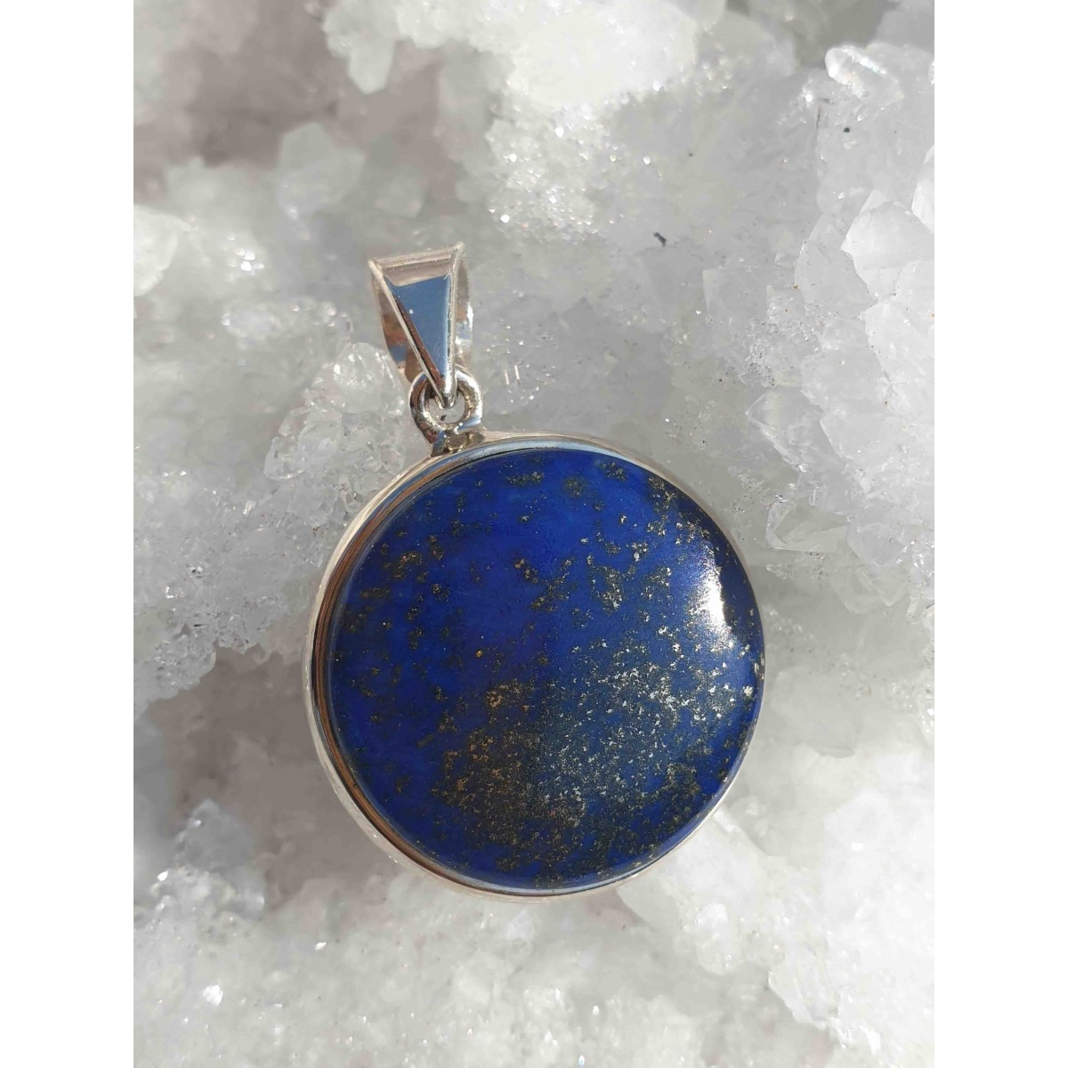 Pendentif Lapis Lazuli rond