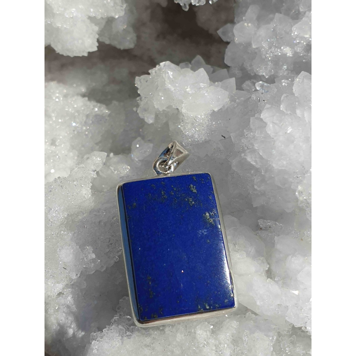 Pendentif Lapis Lazuli Rectangle