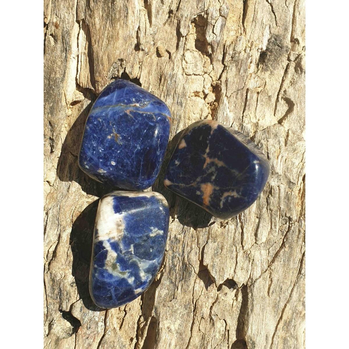 Sodalite (pierre roulée)