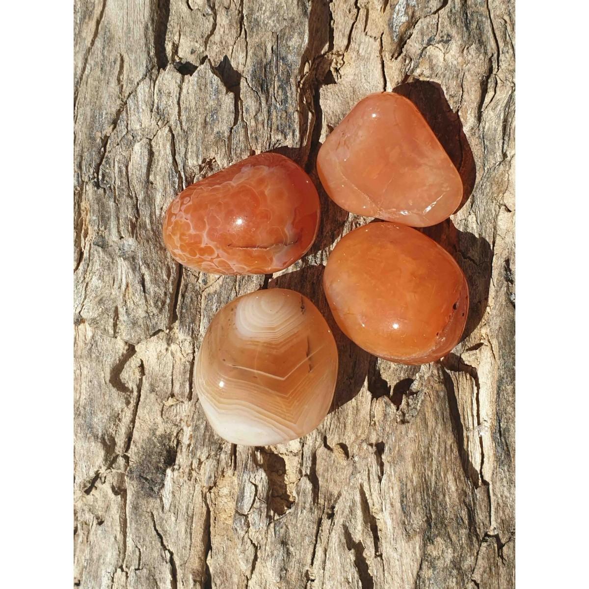 Cornaline (pierre roulée)