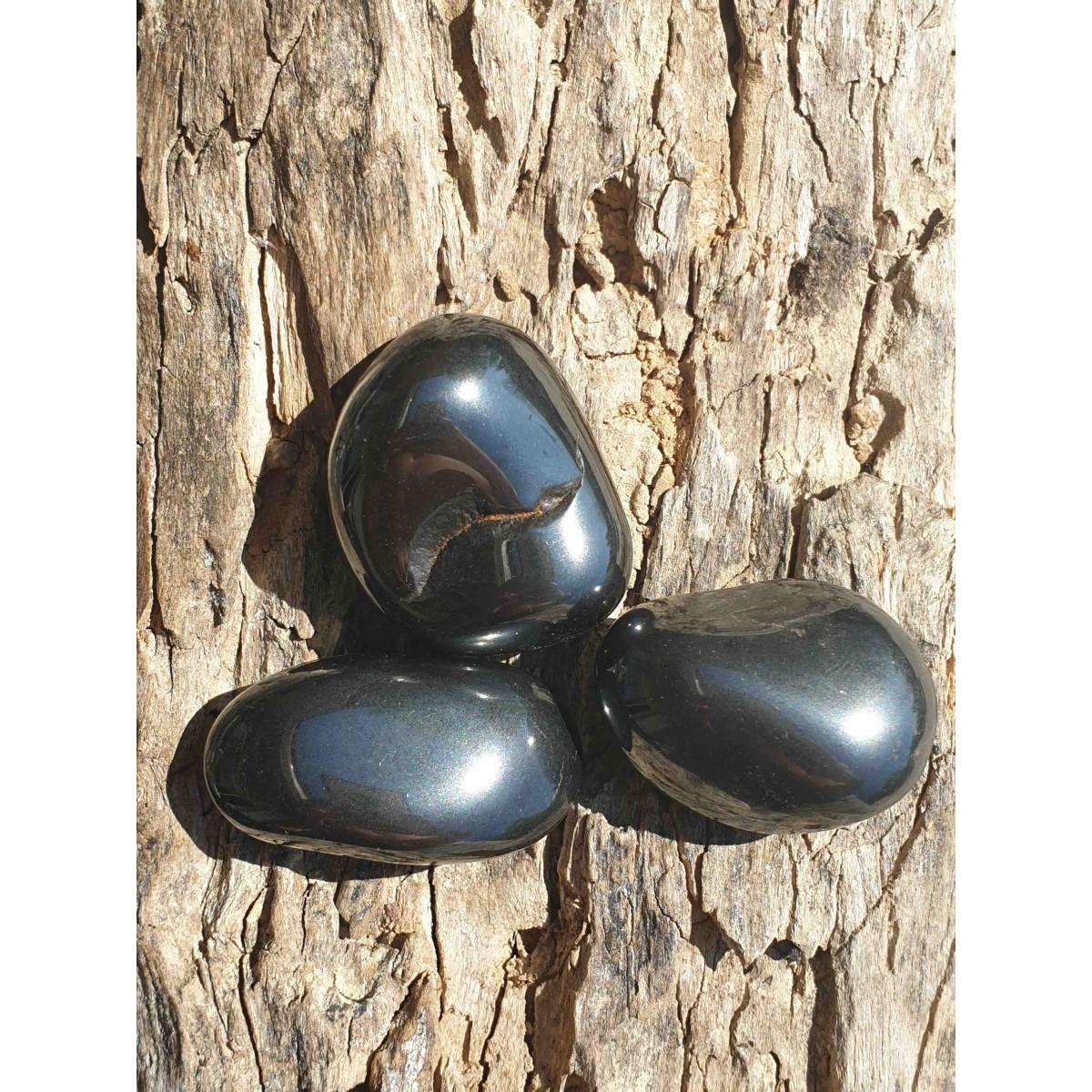 Hématite (pierre roulée)
