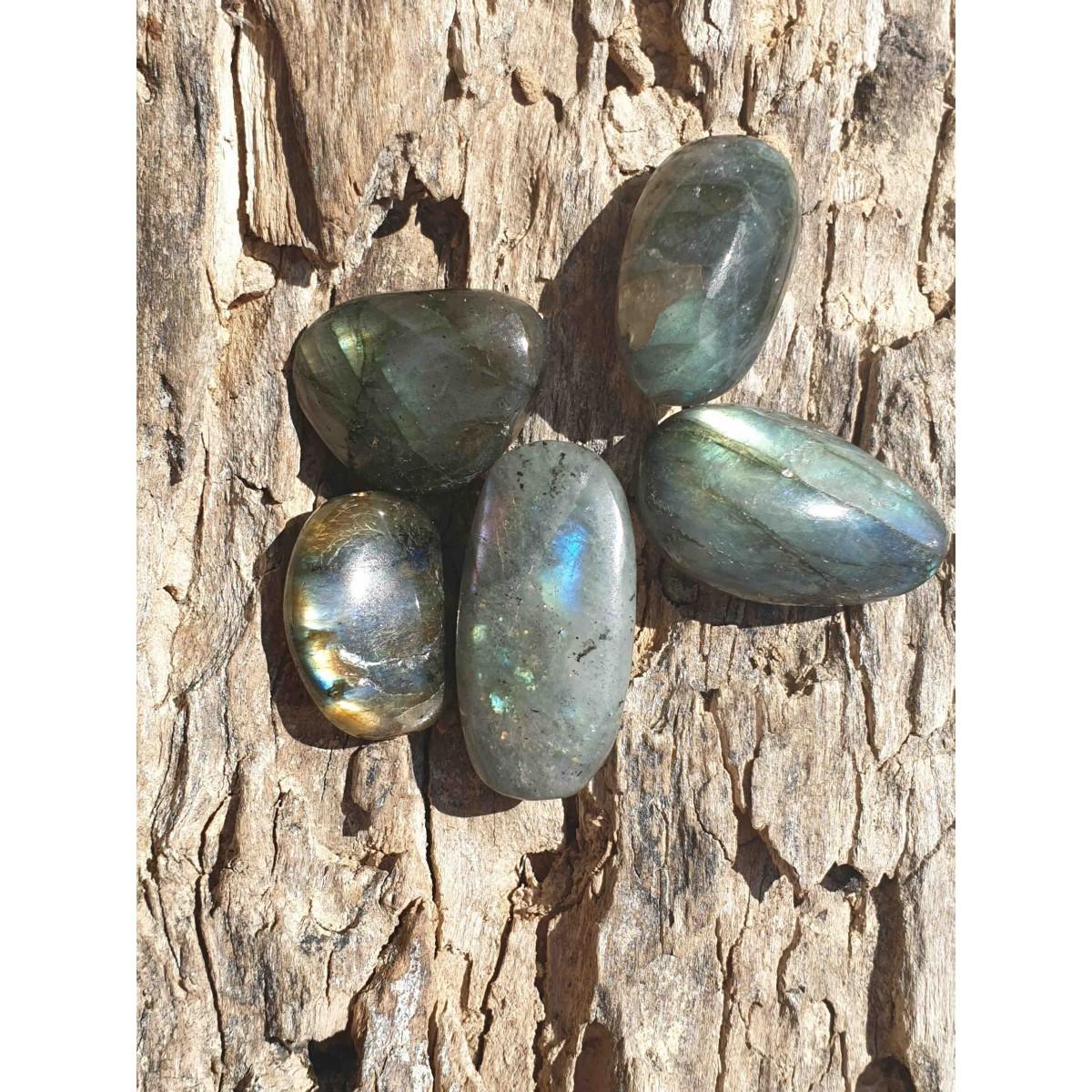Labradorite (pierre roulée)
