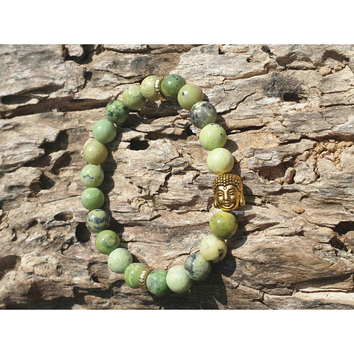 Bracelet Turquoise Africaine Buddha