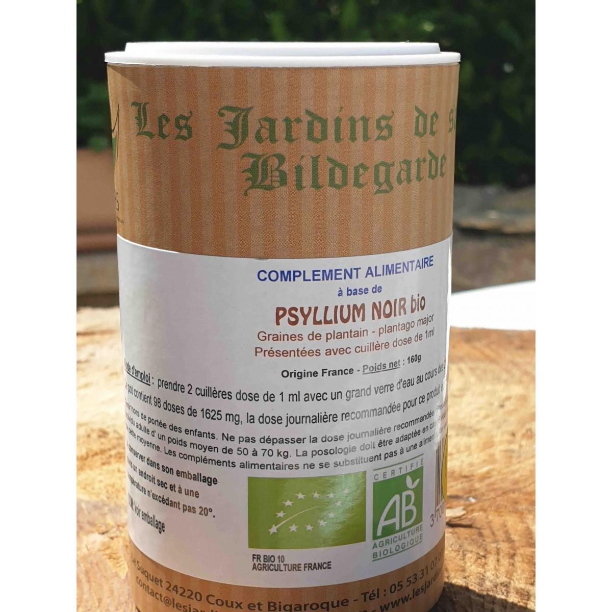 Psyllium noir bio (graines)